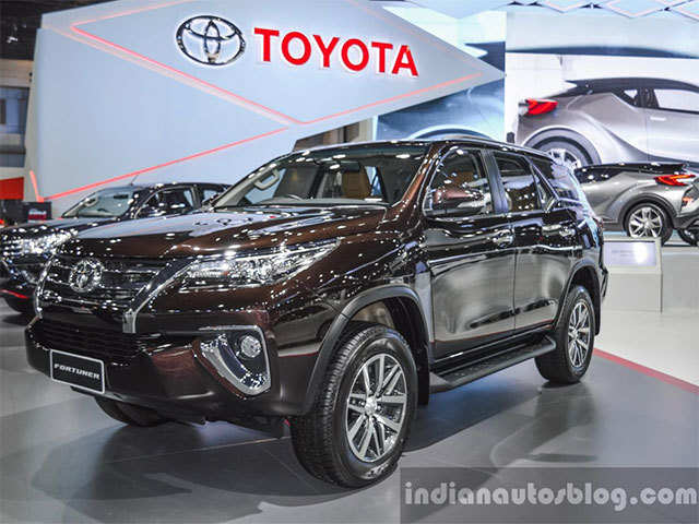 toyota new car release in indiaNew Toyota Fortuner to launch in India during Diwali  New Toyota