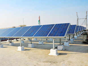 ReNew Power was the lowest bidder for NTPC's solar-power projects in Telangana, winning 100 mw with an offer of Rs 4.66 per unit.