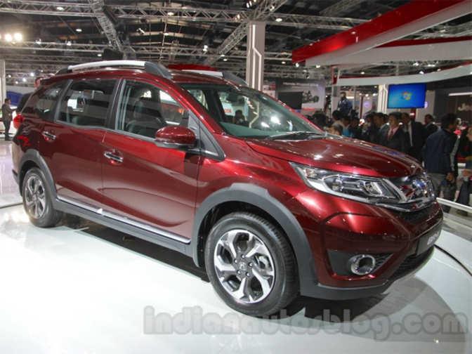 Honda cars launches compact suv br v tagged upwards of rs for Honda small cars
