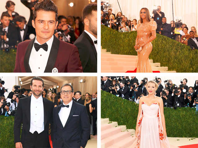 In Pics: Hollywood celebs look more old-school than sci-fi at Met Gala
