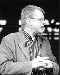 Hans Rosling, Professor, Global Health, Sweden's Karolinska Institute