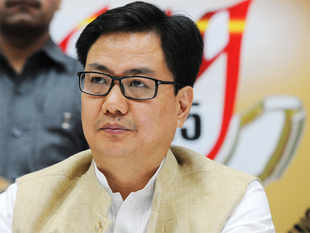 """India as a responsible power must have established guidelines,"" Kiren Rijiju, MoS for Home, told ET, reacting to the criticism to the move."