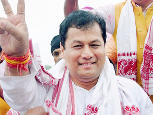 We will encourage industry to invest in organic farming :   Sarbananda Sonowal , BJP's chief minister-designate in Assam