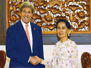 Myanmar: Secretario de Estado Kerry alaba proceso de transición