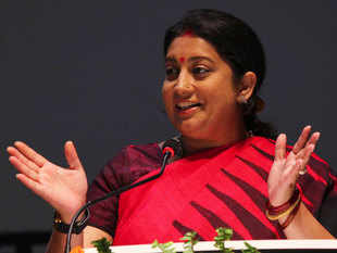 Rahul Gandhi as Congress chief will be 'achhe din for BJP' :    Smriti Z Irani, HRD minister