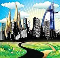 Burj Dubai: The tallest tower | Dubai's metro  | Dubai's mega projects