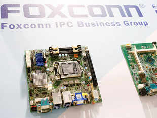 Apart from its investment in Snapdeal, Foxconn participated in a $9-million funding round in QikPod and invested undisclosed amounts in home automation startup .