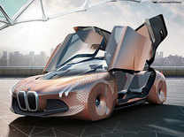 Driverless concept car, a look at the BMW Vision Next 100