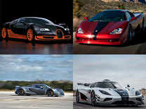 Take a look at the 5 fastest cars in the world