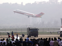 First made-in-China jetliner ARJ21-700 makes debut commercial flight