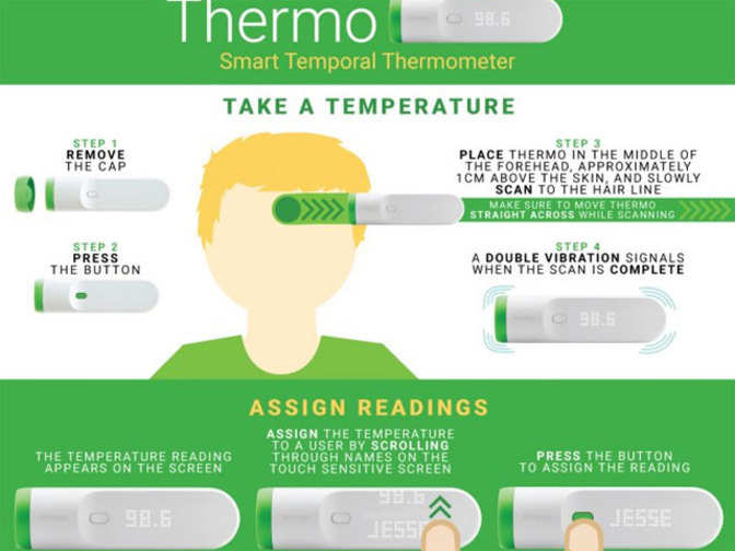 Switch to the smartest thermometer: 'Thermo' can take your ...