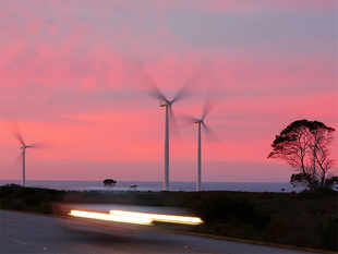 Currently there are no BIS standards for components of wind energy systems.