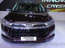 Toyota Innova Crysta is now available in Delhi NCR