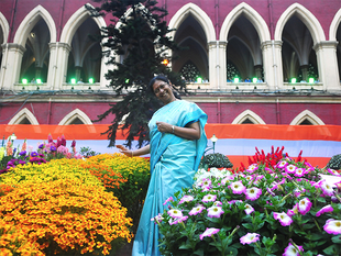 A division bench comprising Chief Justice Manjula Chellur(In pic) and Justice Arijit Banerjee adjourned the hearing as state minister Subrata Mukherjee and former minister Madan Mitra were yet to file affidavits.