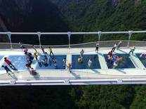 World's highest and longest' glass-bottom bridge