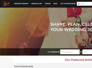 Founded by two IIT-Delhi graduates in 2014, the Delhi-based startup has been helping couples discover vendors for different wedding services as well as track the fulfillment of these services.
