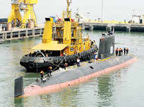 Timeline of India's Scorpene-class submarine project