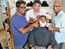 A bunch of men's grooming startups is getting its skin in the game, but can they whip up enough lather to take on the big blades? (Right:  Shantanu Deshpande, 29)