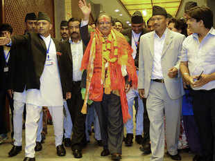 """Kathmandu accused India of imposing an """"unofficial blockade"""" on the landlocked nation in support of the Madhesis, who share close cultural, linguistic and family links with Indians across the border."""
