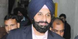 <b>SATYAJIT SINGH MAJITHIA</b> - Shoe-hurled-at-Bikram-Singh-Majithia-amid-ruckus-in-Punjab-Assembly