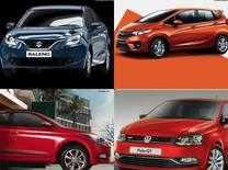 Maruti Baleno AT vs Hyundai Elite i20 AT vs Honda Jazz AT vs VW Polo GT TSI