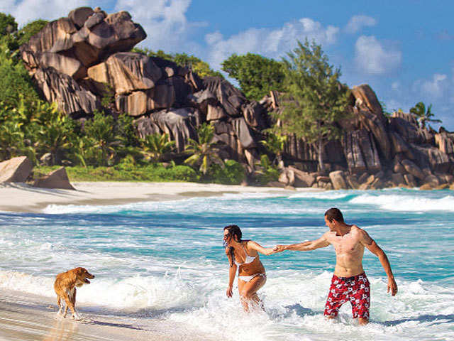 When in Seychelles, explore the marine parks & unwind the spectacular views!