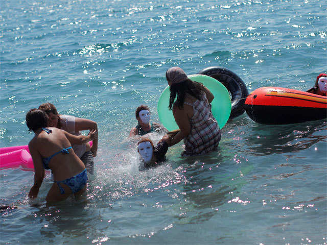 Beachy tales: Become sea creatures in Ibiza while holidaying with your girl gang