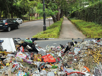 While the NDMC scores big on Swachh standards, the rest of Delhi falls