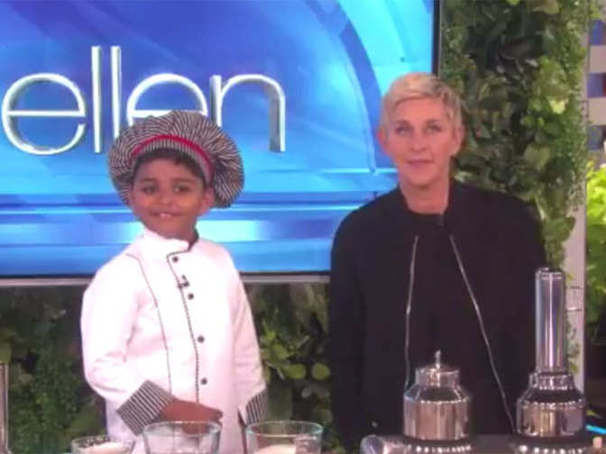 Six-year-old Indian chef Nihal Raj wins the cooking world on 'The ...