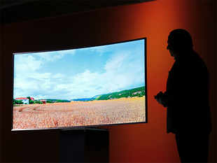 In India, 32-inch screen size TVs are still the largest-selling, commanding 37 per cent of sales, followed by 40-42 inch sets, which account for 15 per cent of sales.