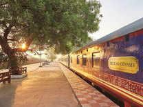 Take a luxury train ride on the Deccan Odyssey