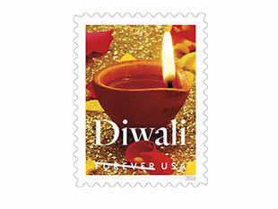 The US Postal Service (USPS) commemorated the Hindu festival of Diwali by dedicating the Diwali Forever stamp.