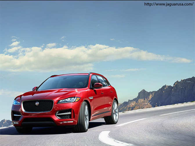 price list jaguar suv f pace rolls into india at rs 68 4l the economic times. Black Bedroom Furniture Sets. Home Design Ideas