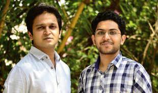 Locus cofounders Nishith Rastogi (left) and Geet Garg
