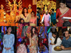 Bollywood Celebs, Politicians celebrate Durga Puja