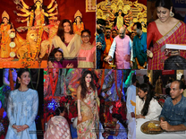 Watch how Bollywood celebs, Politicians celebrate Durga Puja
