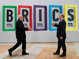The President, who will be in Goa for the five-nation BRICS Summit this weekend, said many of the Russian projects in India not only have commercial importance but also play a significant social and economic role for the economies of the two partners.