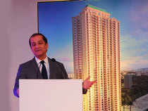 """""""This will be our flagship project. It will be a 45 storeyed building. It will be tallest housing project in Chennai. The 245 units will comprise of two, four and five bed room apartments,"""" Surendra Hiranandani said."""