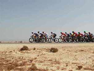 Day in pics: Elite road race, largest yacht and more