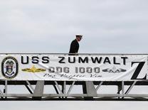 US Navy commissions most advanced stealth destroyer USS Zumwalt