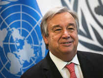 """Speaking shortly after his selection, Guterres expressed """"gratitude and humility"""" at his election."""
