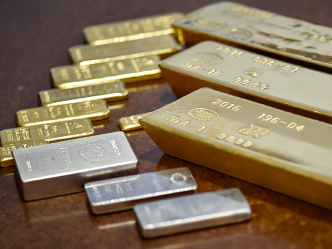 Silver, gold futures take gain forward