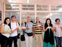 Typically, foreign tourist arrivals in India in November and December are the highest during the year.