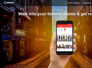 ShopsUp will help the brands in targeting customers, in creasing footfall and visibility and custo mer analytics.