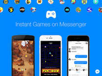 Now you can play Pac-Man in Facebook Messenger app