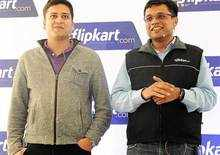 Flipkart duo Sachin and Binny Bansal