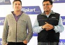 Flipkart duo Sachin and Binny Bansal