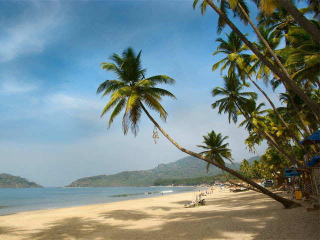 Enjoy the sunset at the scenic Palolem beach in Goa
