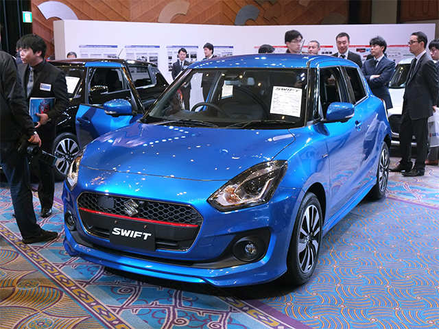 new car launches in japanSuzuki launches 2017 Swift in Japan and it looks super trendy