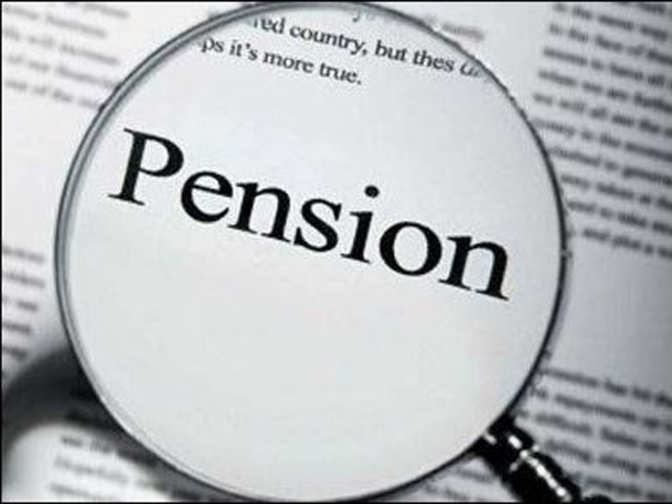 How much money does the government allow for a widow's pension?